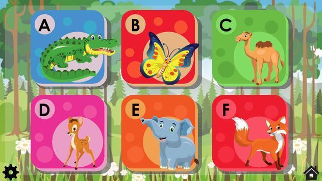 动物拼图ABC