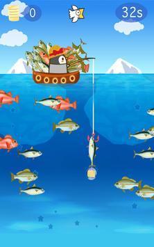 钓鱼的小企鹅