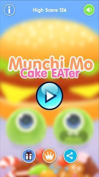 吃蛋糕的蒙奇莫