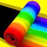 彩色滚筒3D
