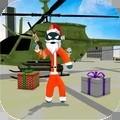 圣诞节火柴人