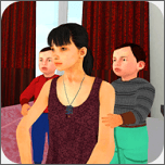 妈妈模拟家庭生活