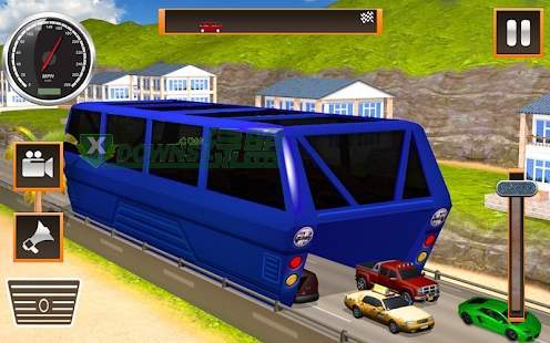 高架公交车模拟