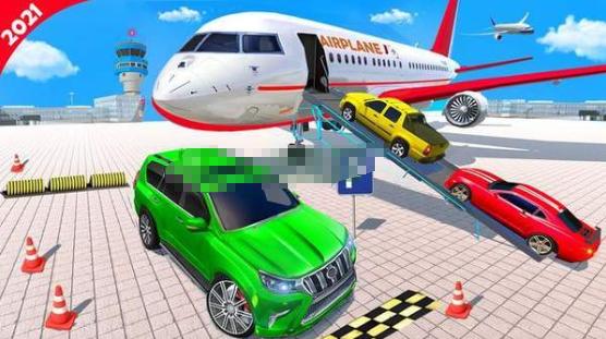 飞机停机坪普拉多驾驶