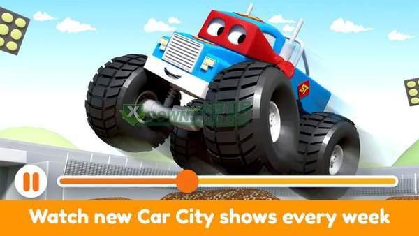 汽车城世界的小孩子