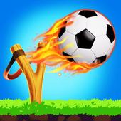弹弓足球比赛