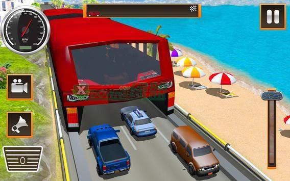 高架公交未来巴士驱动