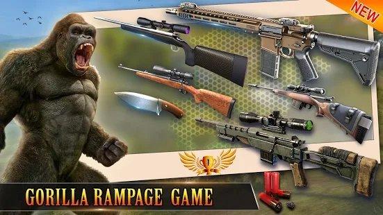 狩猎野生大猩猩2021