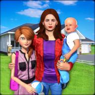 虚拟家庭单亲妈妈